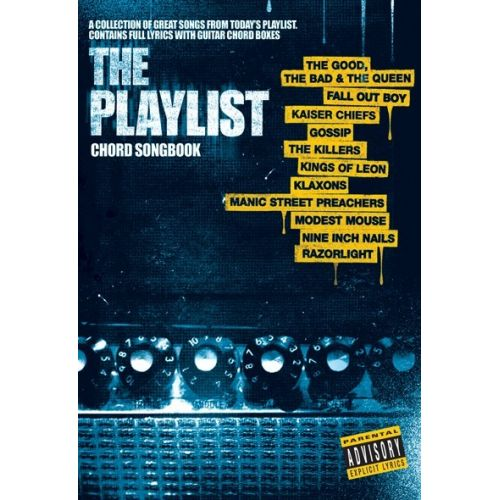 MUSIC SALES THE PLAYLIST CHORD SONGBOOK 3 - LYRICS AND CHORDS