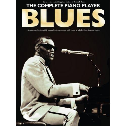 MUSIC SALES THE COMPLETE PIANO PLAYER BLUES - PIANO SOLO