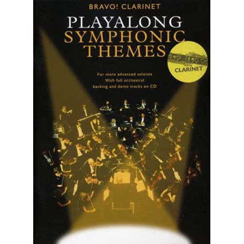 WISE PUBLICATIONS PLAYALONG SYMPHONIC THEMES + CD - CLARINET