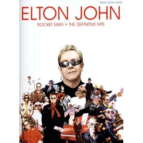 WISE PUBLICATIONS JOHN ELTON - ROCKET MAN DEFINITIVE HITS - PVG
