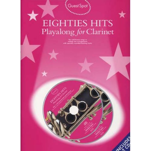 WISE PUBLICATIONS GUEST SPOT - EIGHTIES HITS + 2CD - CLARINET