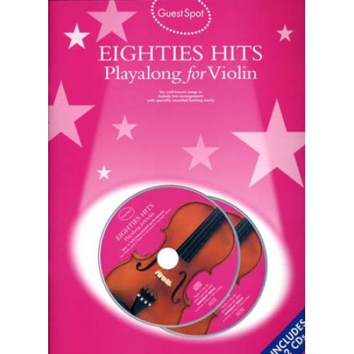 WISE PUBLICATIONS GUEST SPOT - EIGHTIES HITS + 2CD - VIOLIN
