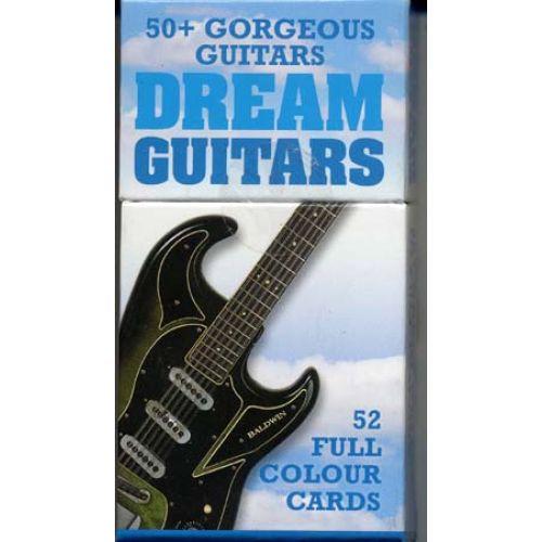 MUSIC SALES DREAM GUITARS 52 CARTES