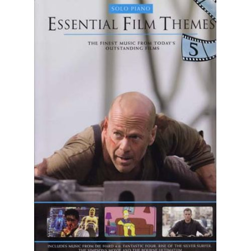 WISE PUBLICATIONS ESSENTIAL FILM THEMES VOL.5 - PIANO SOLO