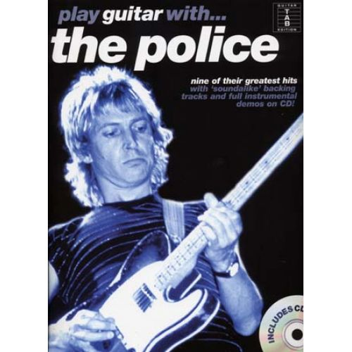 WISE PUBLICATIONS PLAY GUITAR WITH... THE POLICE + CD