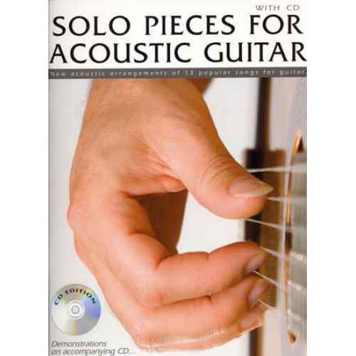 WISE PUBLICATIONS SOLO PIECES FOR ACOUSTIC + CD - GUITAR TAB