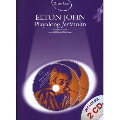 HAL LEONARD JOHN ELTON - GUEST SPOT + CD - FLUTE