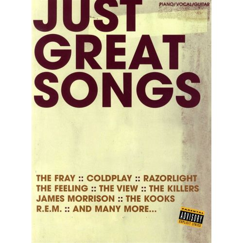 WISE PUBLICATIONS JUST GREAT SONGS - PVG