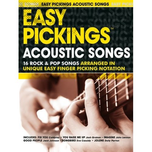 WISE PUBLICATIONS EASY PICKINGS ACCOUSTIC SONGS - GUITAR