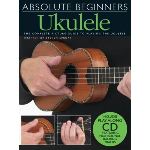 WISE PUBLICATIONS ABSOLUTE BEGINNERS UKULELE + CD - UKULELE