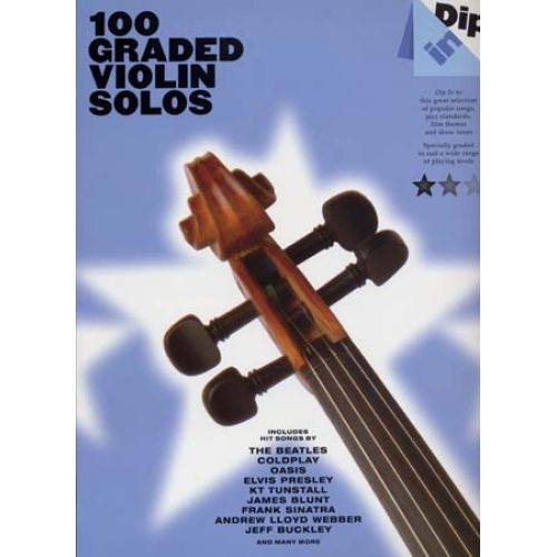 WISE PUBLICATIONS DIP IN 100 GRADED VIOLIN SOLOS