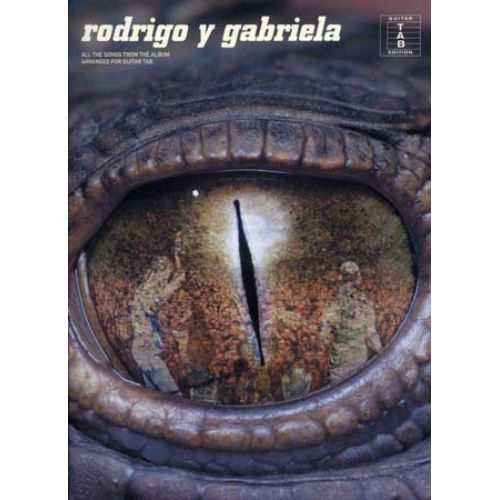 WISE PUBLICATIONS RODRIGO Y GABRIELA TABLATURA PARA GUITARRA
