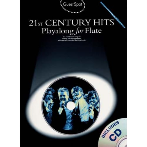 WISE PUBLICATIONS GUEST SPOT - 21ST CENTURY HITS + 2CD - FLUTE