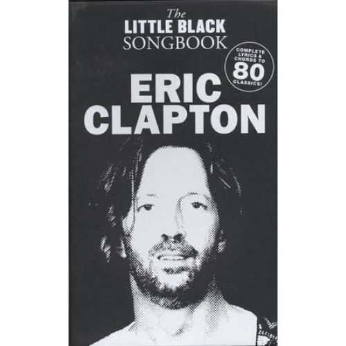 WISE PUBLICATIONS CLAPTON ERIC LITTLE BLACK SONGBOOK