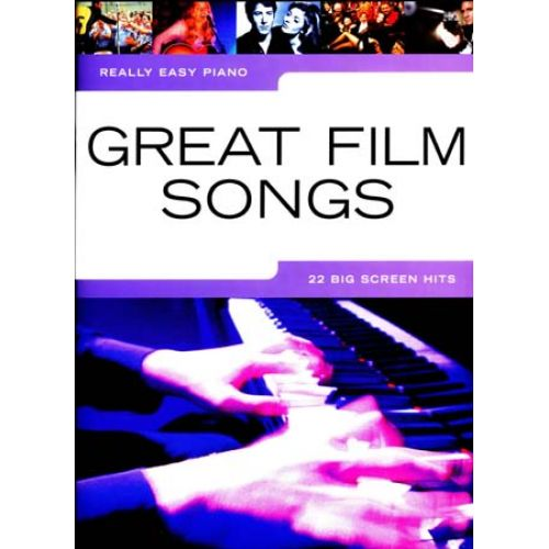 WISE PUBLICATIONS REALLY EASY PIANO - GREAT FILM SONGS - PIANO