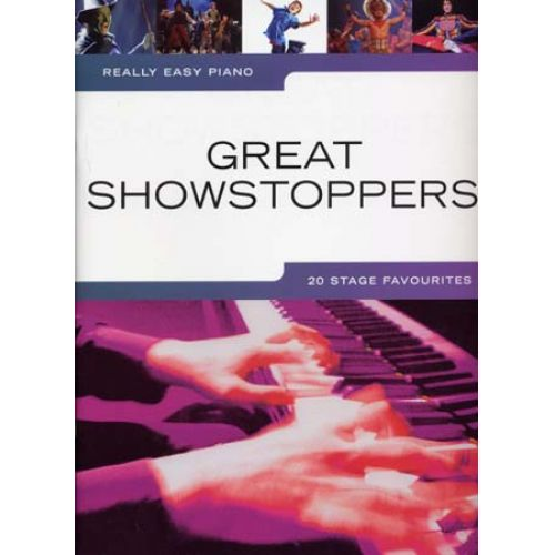 WISE PUBLICATIONS REALLY EASY PIANO GREAT SHOWSTOPPERS