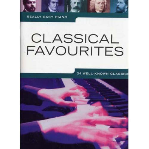 WISE PUBLICATIONS REALLY EASY PIANO CLASSICAL FAVOURITES