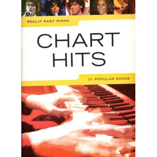 WISE PUBLICATIONS REALLY EASY PIANO - CHART HITS - PIANO