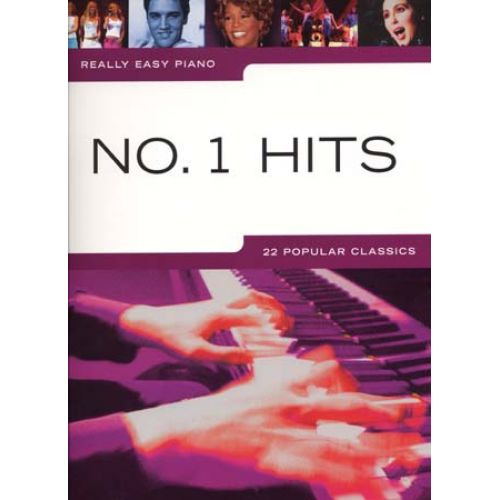 WISE PUBLICATIONS REALLY EASY PIANO - N°1 HITS - PIANO