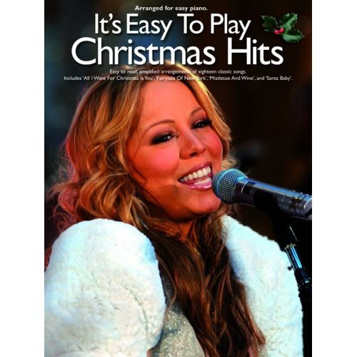 WISE PUBLICATIONS ITS EASY TO PLAY CHRISTMAS HITS - PIANO SOLO