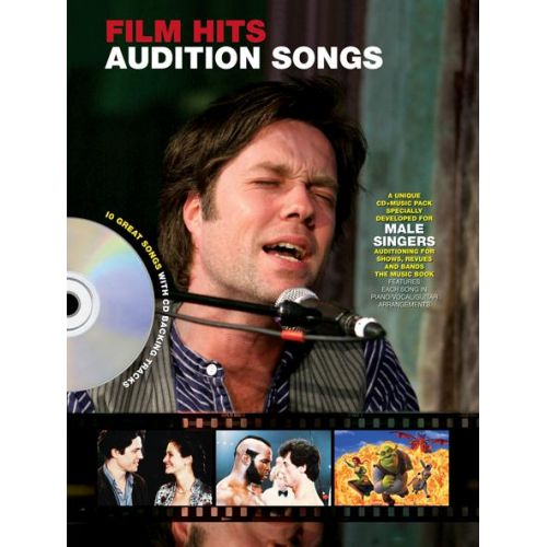 WISE PUBLICATIONS AUDITION SONGS FILM HITS MALE SINGERS + CD