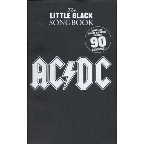 WISE PUBLICATIONS AC/DC - LITTLE BLACK SONGBOOK 90 CLASSICS