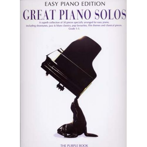 WISE PUBLICATIONS GREAT PIANO SOLOS EASY PIANO EDITION PURPLE BOOK