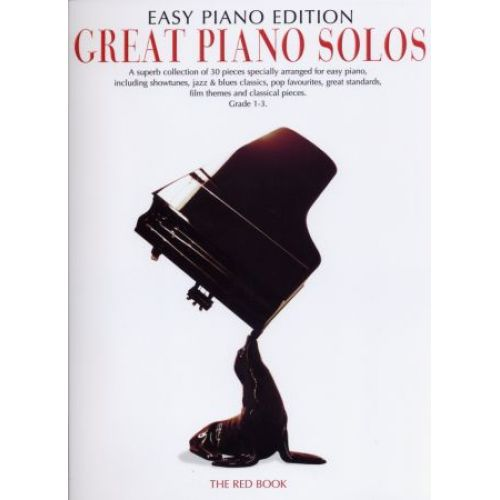WISE PUBLICATIONS GREAT PIANO SOLOS EASY PIANO EDITION RED BOOK