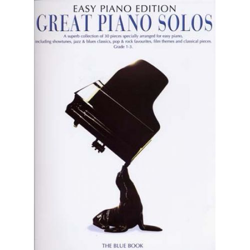 WISE PUBLICATIONS GREAT PIANO SOLOS EASY PIANO EDITION BLUE BOOK