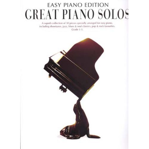 WISE PUBLICATIONS GREAT PIANO SOLOS - EASY PIANO EDITION