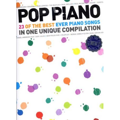 WISE PUBLICATIONS POP PIANO - 23 OF THE BEST