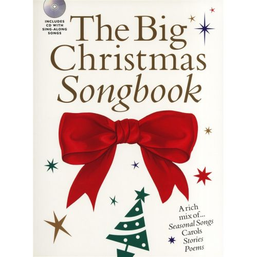 WISE PUBLICATIONS THE BIG CHRISTMAS SONGBOOK + CD - VOICE