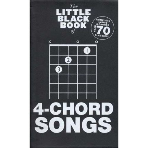 WISE PUBLICATIONS LITTLE BLACK BOOK 4-CHORD SONGS