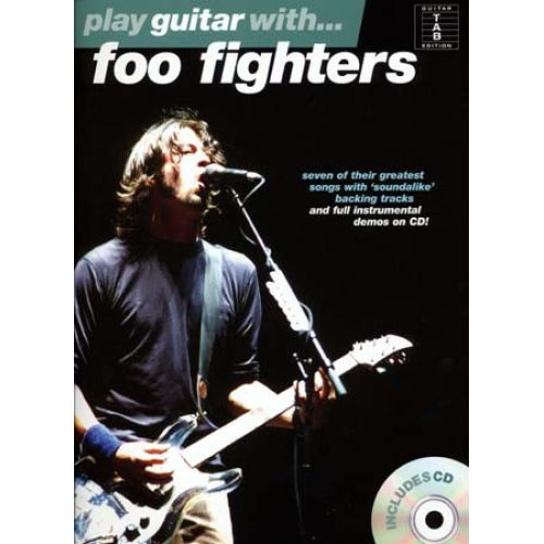 WISE PUBLICATIONS PLAY GUITAR WITH... FOO FIGHTERS + CD