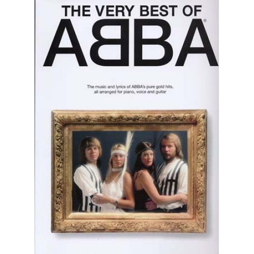WISE PUBLICATIONS ABBA - VERY BEST OF - PVG
