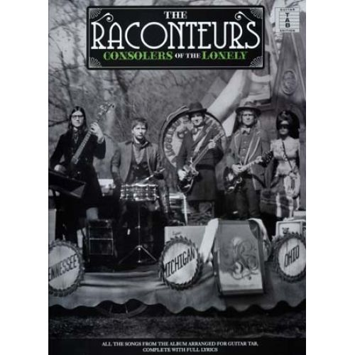 WISE PUBLICATIONS RACONTEURS - CONSOLERS OF THE LONELY - GUITAR TAB