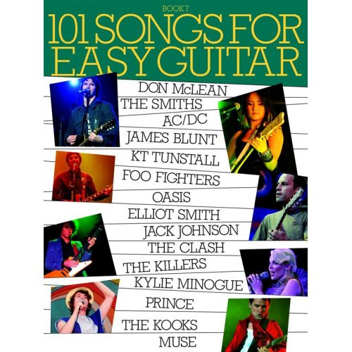 WISE PUBLICATIONS 101 SONGS FOR EASY GUITAR BOOK 7 - GUITAR