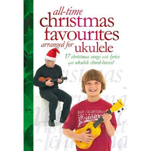 MUSIC SALES HARRISON DAVID - ALL-TIME CHRISTMAS FAVOURITES FOR UKULELE - UKULELE
