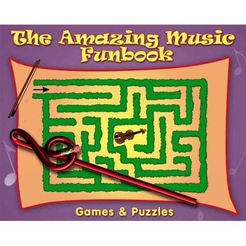 CHESTER MUSIC AMAZING MUSIC FUNBOOK PLUS NOVELTY PENCL -