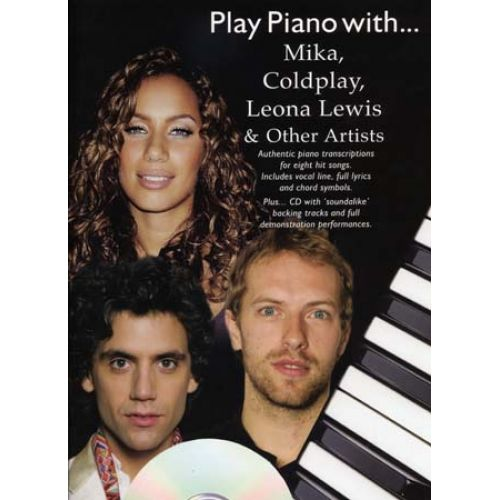 WISE PUBLICATIONS PLAY PIANO WITH MIKA, COLDPLAY, LEWIS... CD