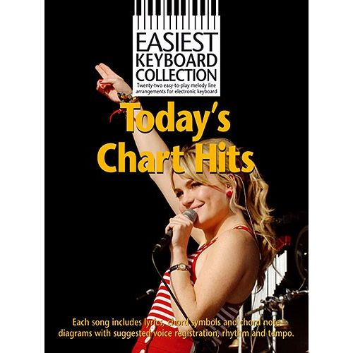 WISE PUBLICATIONS TODAYS CHART HITS - KEYBOARD