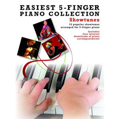 WISE PUBLICATIONS EASIEST 5-FINGER PIANO COLLECTION SHOWTUNES