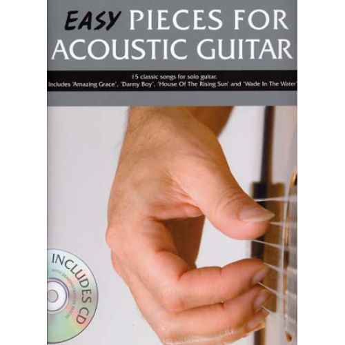 WISE PUBLICATIONS EASY PIECES FOR ACOUSTIC GUITAR + CD