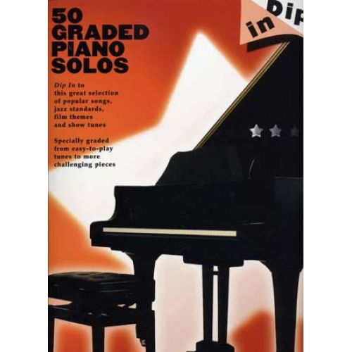 WISE PUBLICATIONS DIP IN 50 GRADED PIANO SOLOS