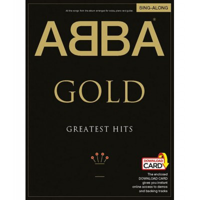 WISE PUBLICATIONS ABBA - GOLD GREATEST HITS SING ALONG + 2 CD - PVG