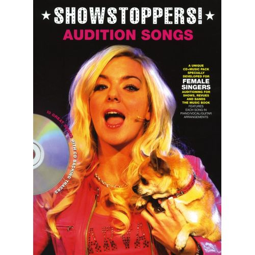 WISE PUBLICATIONS AUDITION SONGS FOR FEMAILE SINGERS - SHOWSTOPPERS - PVG