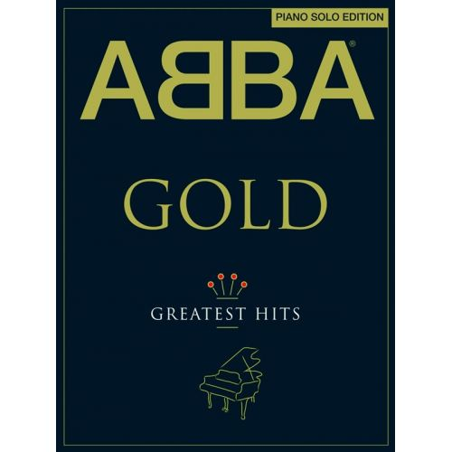 WISE PUBLICATIONS ABBA GOLD PIANO SOLO EDITION - PIANO SOLO