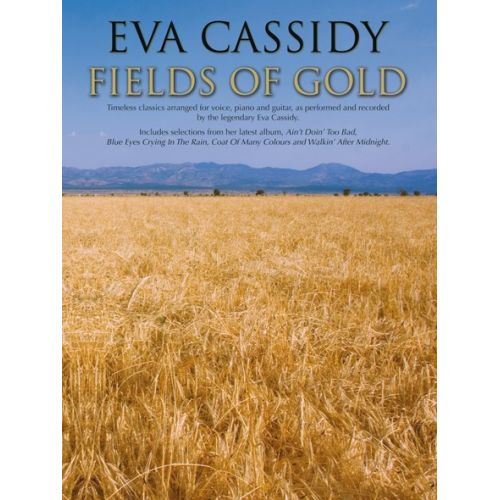 WISE PUBLICATIONS EVA CASSIDY FIELDS OF GOLD - PVG