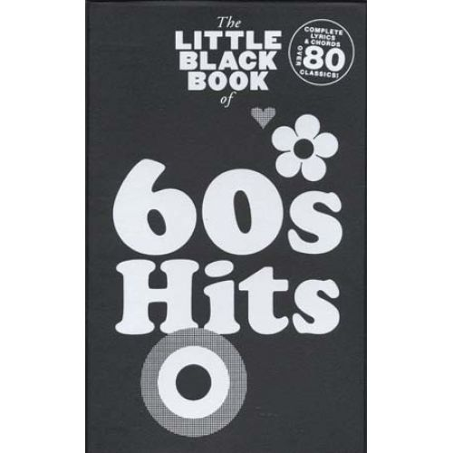 WISE PUBLICATIONS LITTLE BLACK BOOK OF 60'S HITS