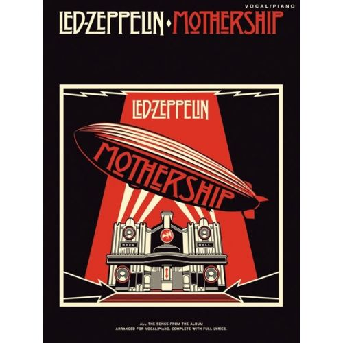 WISE PUBLICATIONS LED ZEPPELIN MOTHERSHIP - PVG